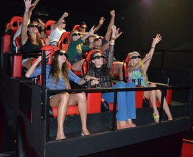 7D Cinema - Virtual Reality - Accommodation Daintree